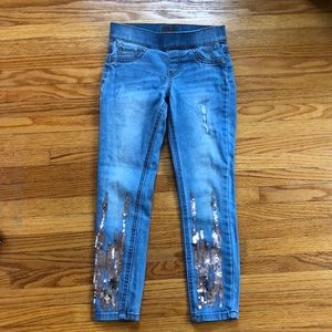 Justice Sparkly Jeggings